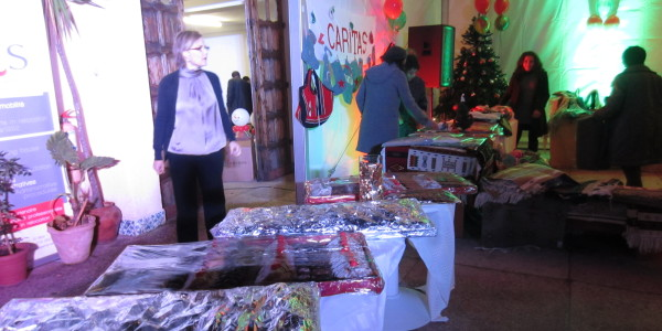 ARS sponsor of the Christmas Market in Algiers