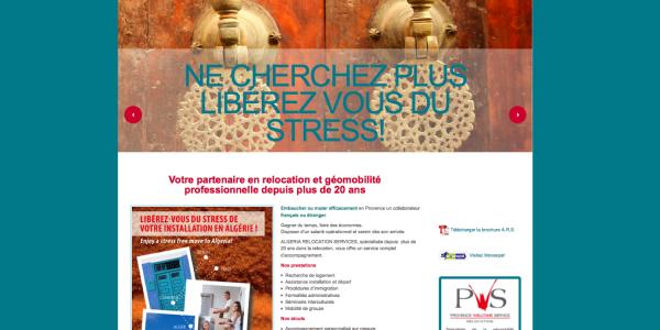 Nouveau site internet ALGERIA RELOCATION SERVICES
